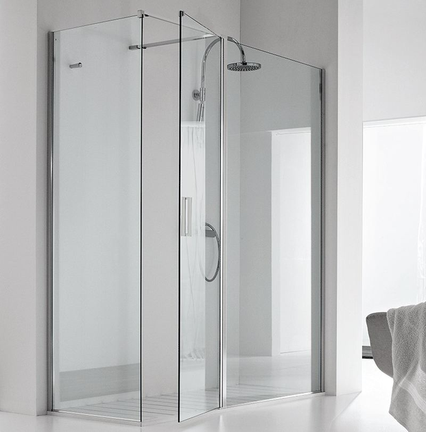 Rectangular shower cabin DOUBLE AB + F1 - RELAX