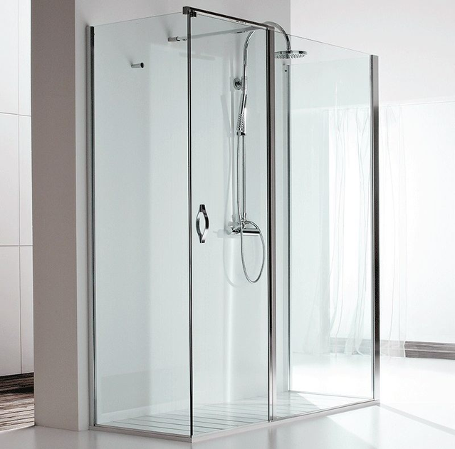 Rectangular shower cabin DOUBLE AB + F1 + F2 - RELAX