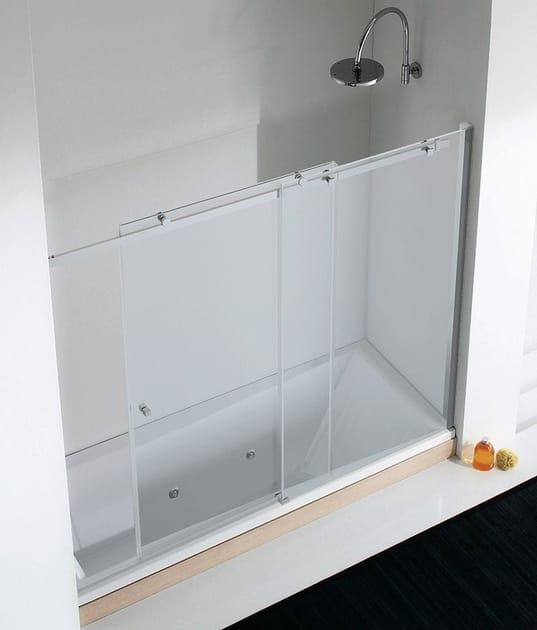 Crystal bathtub wall panel AXIA SC1-V - RELAX