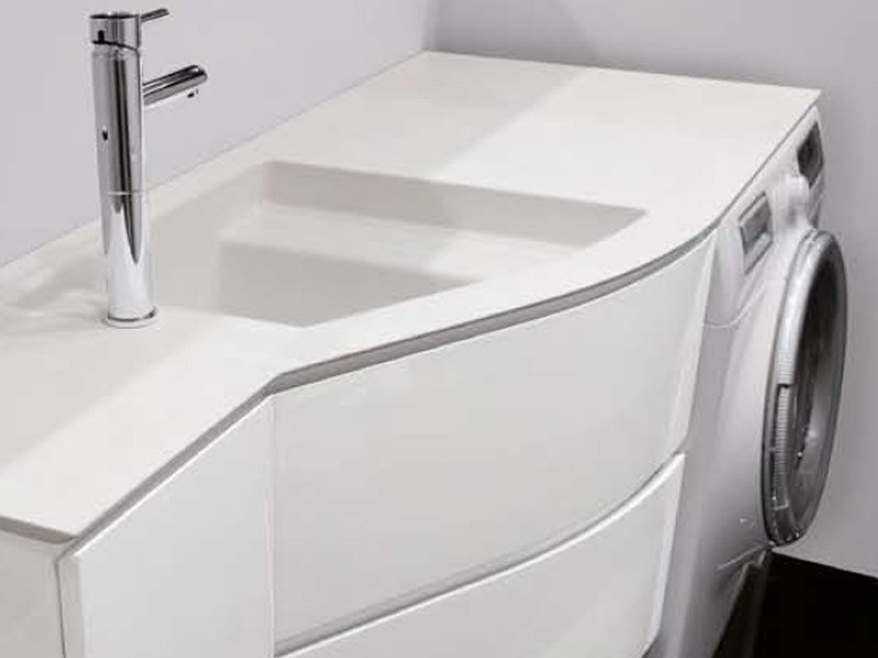 Mobile bagno con portalavatrice: mobile bagno lavanderia ...