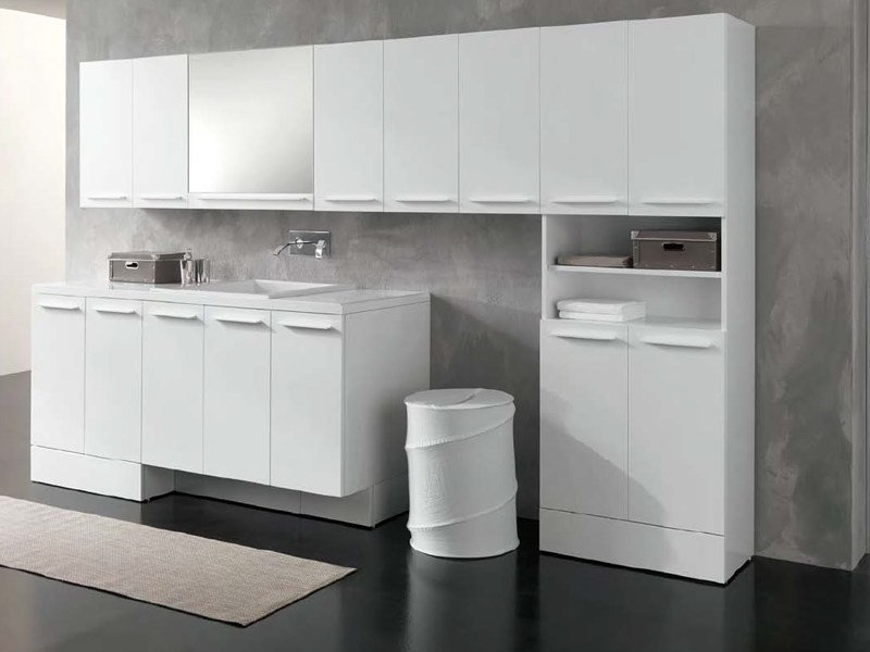 Sectional laundry room cabinet COMPACT | Laundry room cabinet - GEROMIN GIUSEPPE