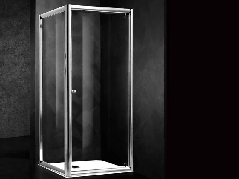 Corner shower cabin LOFT B1 + F - RELAX
