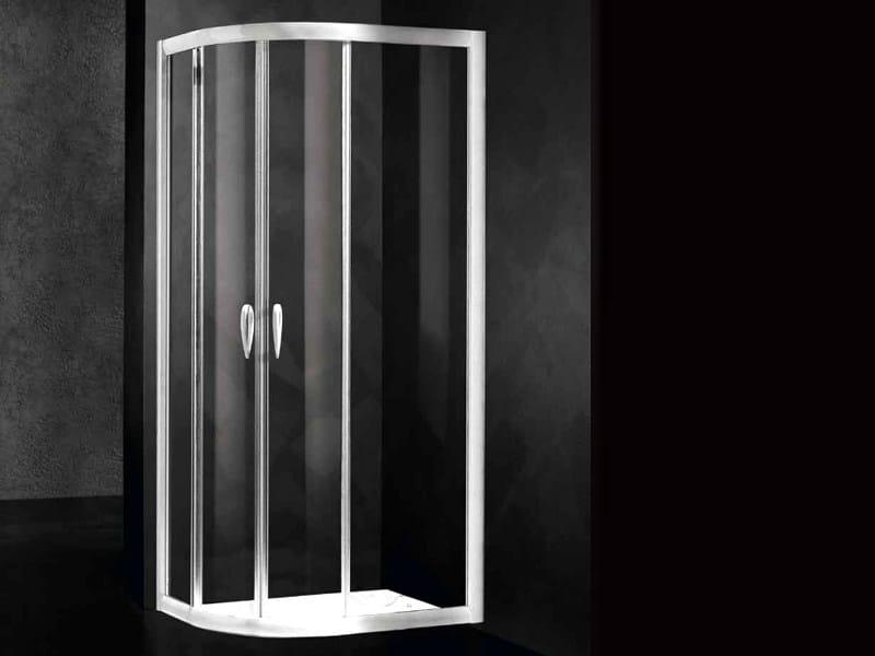 Crystal shower cabin LOFT RA - RELAX