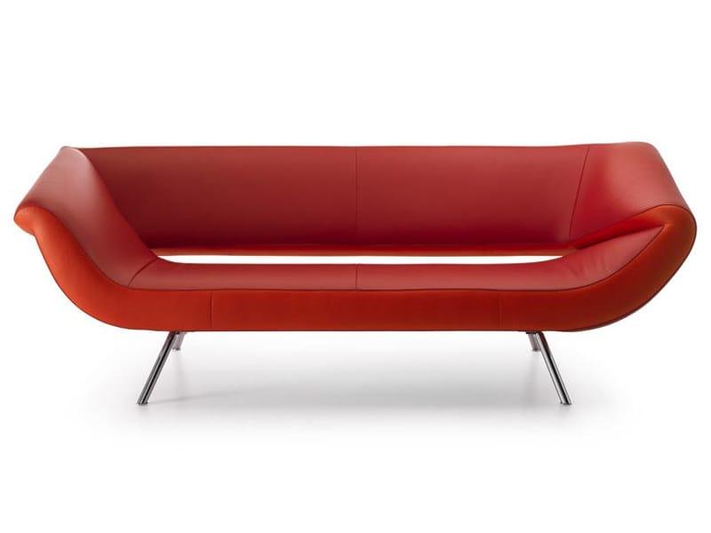 Leather sofa ARABELLA - LEOLUX