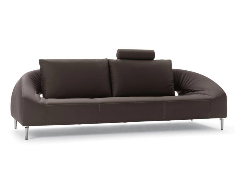 Leather sofa VOL DE REVE | Sofa - LEOLUX