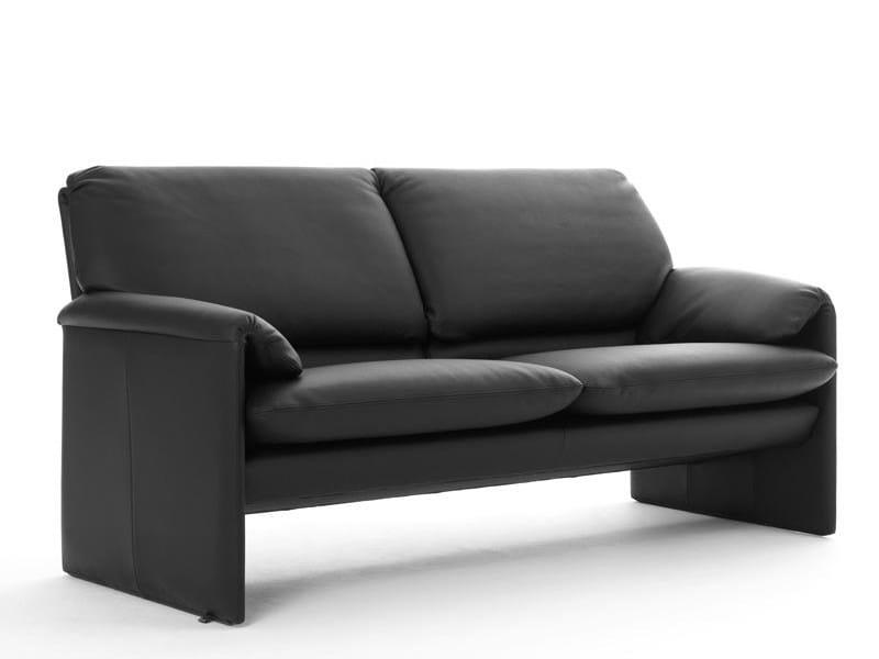 Recliner leather sofa BELLA BORA HIGH | Sofa - LEOLUX
