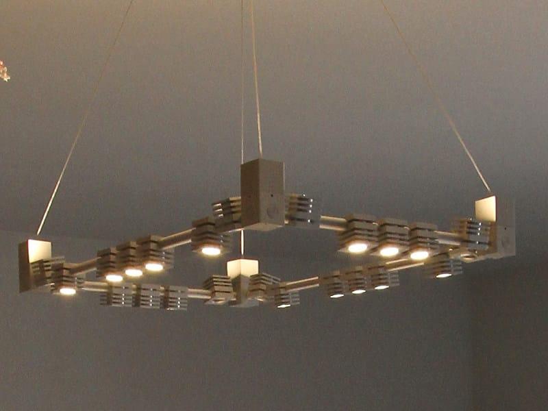 LED pendant lamp GEMINI LED | Pendant lamp - Tecnoilluminazione