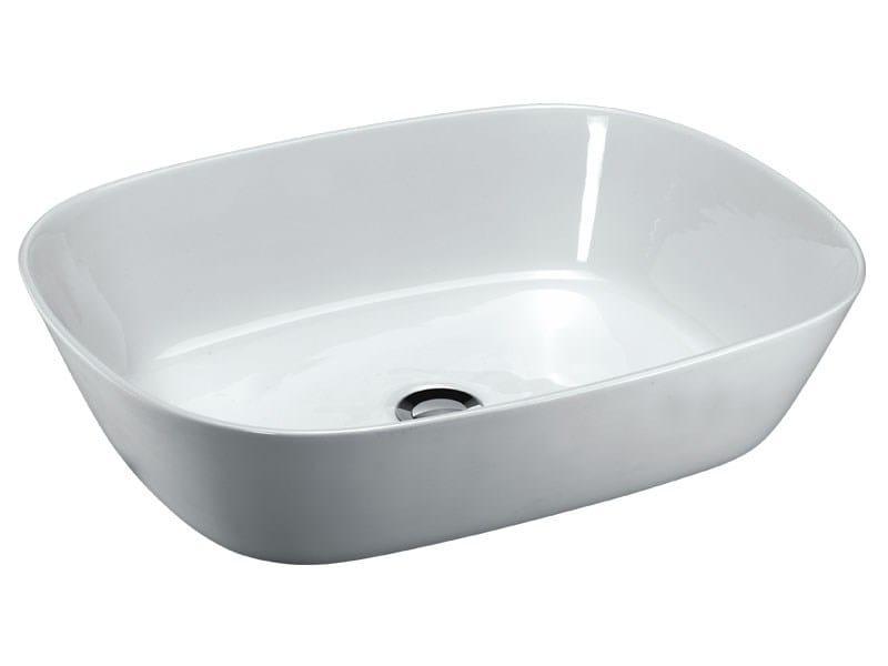Lavabo da appoggio in ceramica egg ex t for Assistenza finestre velux firenze