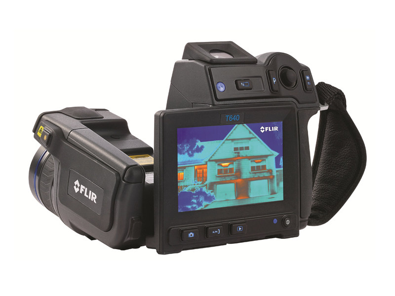 Measurement, control, thermographic and infrared instruments FLIR T640 - T620 - FLIR Systems
