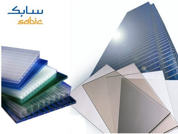 Translucent plastic laminate wall panel LEXAN™ Solid and alveolar sheet - SABIC