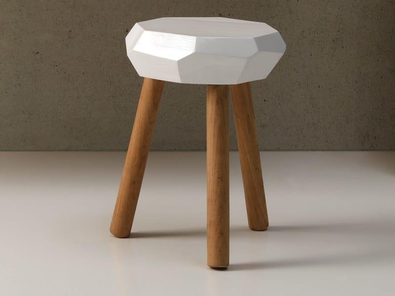 Oak stool CARPENTER STOOL - Ex.t
