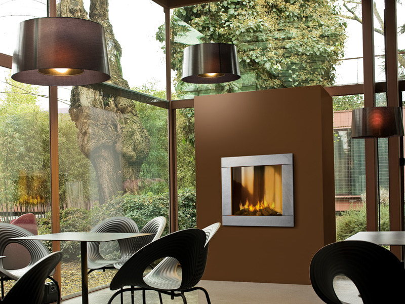 Steel Fireplace Mantel NATURAL by MCZ GROUP