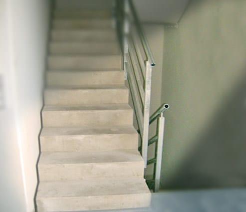 Scala a giorno prefabbricata in calcestruzzo scale prefabbricate in cemento armato progress - Scale in cemento armato ...