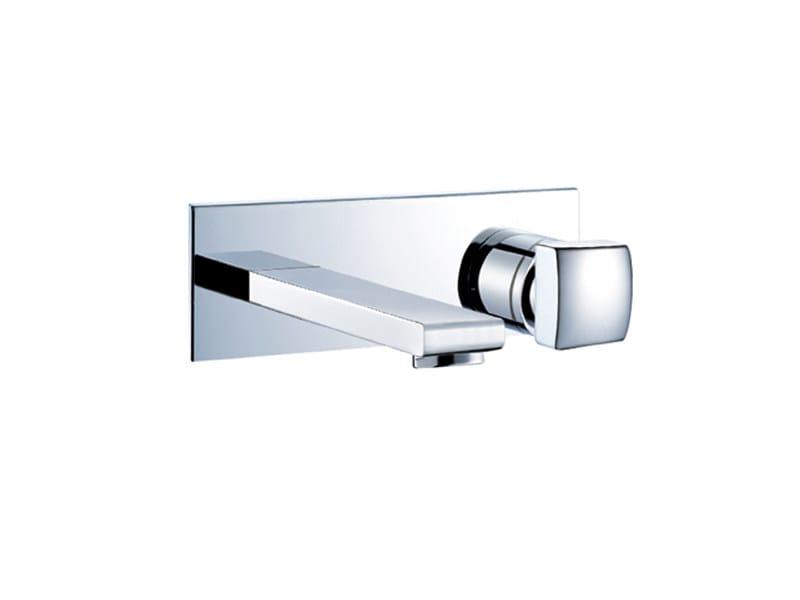 Miscelatore per lavabo a 2 fori a muro TOUCH ME | MISCELATORE PER LAVABO A 2 FORI - EX.T