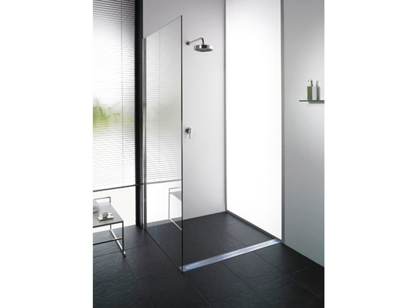 Stainless steel shower channel ACO ShowerDrain - ACO PASSAVANT