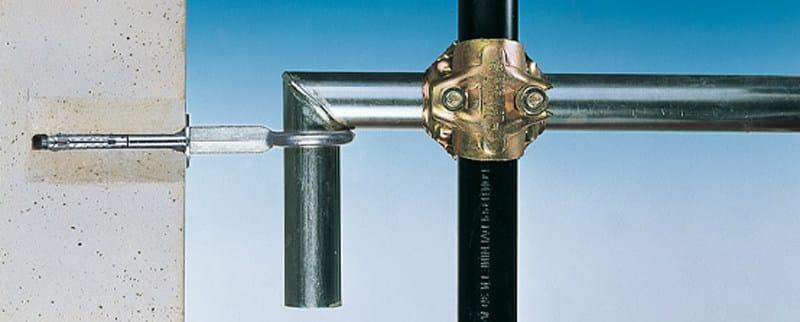 Scaffolding joint, fixing and accessory Tubi di ancoraggio - FISCHER ITALIA
