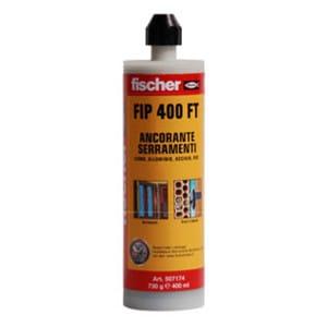 Chemical anchor Fischer FIP 400 FT - FISCHER ITALIA