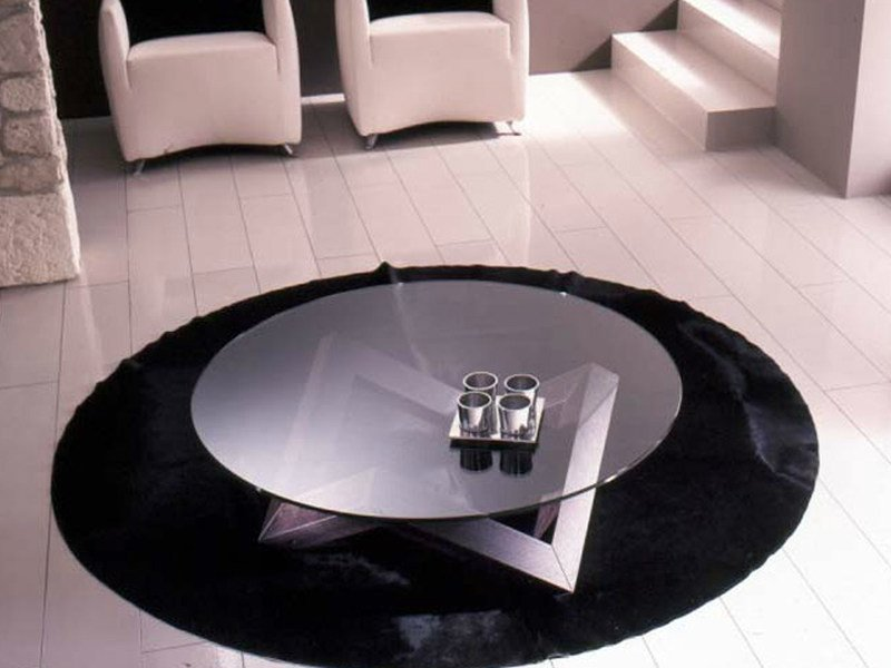Round coffee table for living room ZEN | Coffee table by RIFLESSI