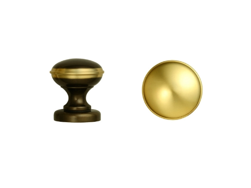Brass door knob 169Q | Door knob by Enrico Cassina