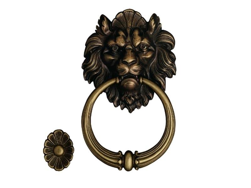 Classic style brass door knocker 645 | Brass door knocker - Enrico Cassina