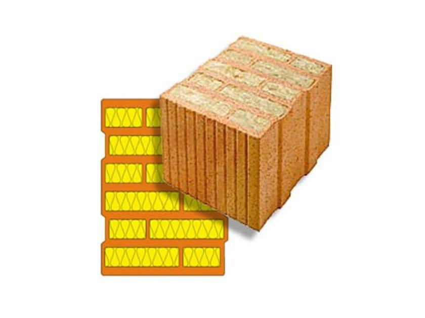 Thermal insulating clay block ThermoPlan® MZ8 - Ziegelwerk Klosterbeuren Ludwig Leinsing