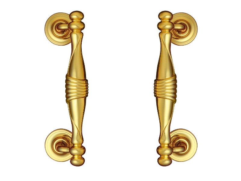 Classic style brass pull handle 705 | Pull handle - Enrico Cassina