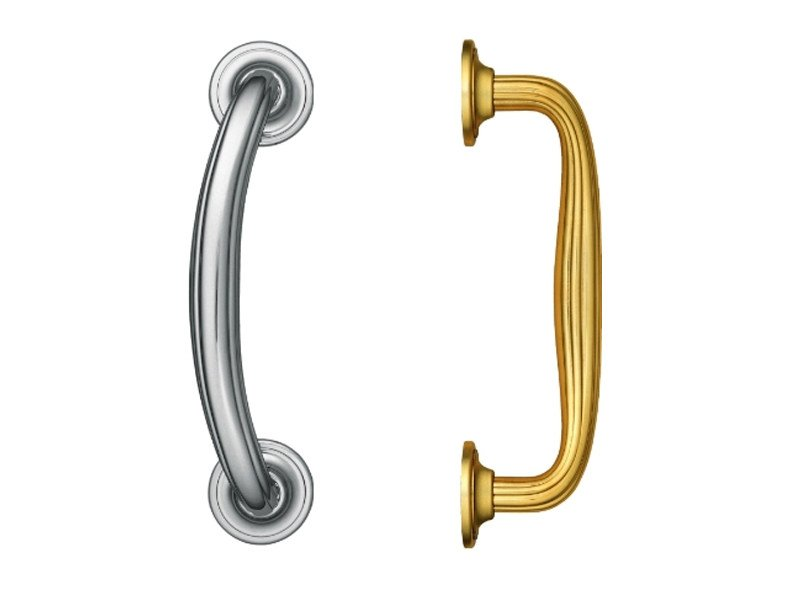 Contemporary style brass pull handle 711 | Pull handle - Enrico Cassina