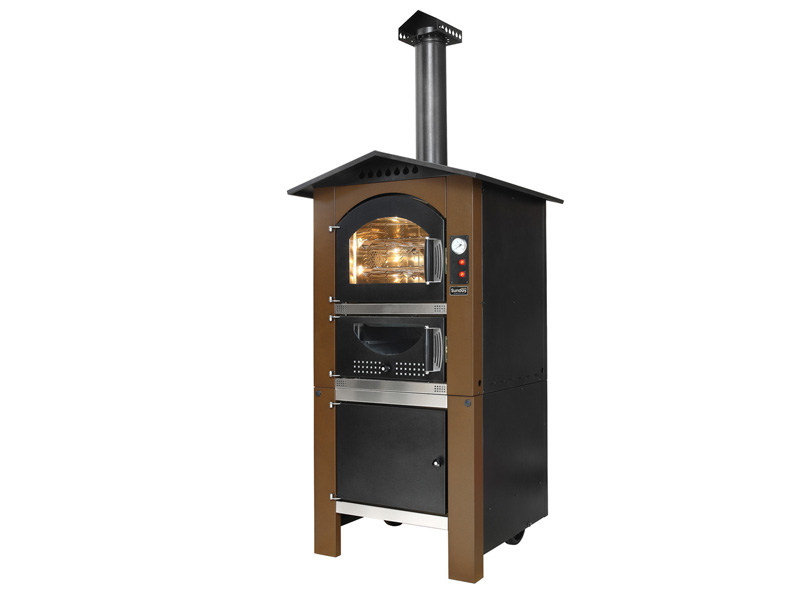 Wood-fired steel outdoor oven ARCOS - Sunday