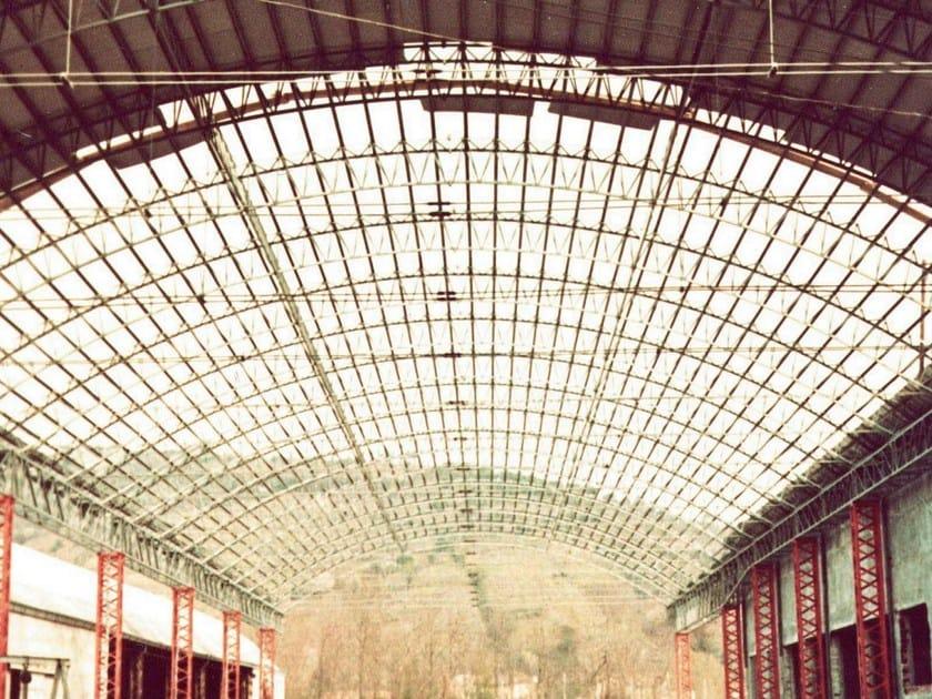 Roof panel in translucent plastic laminate ONDUCLAIR PLR - ONDULINE ITALIA
