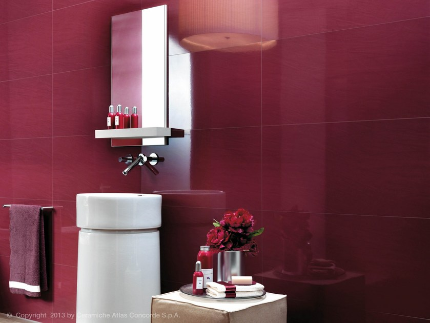 White-paste wall tiles MAGNIFIQUE | White-paste wall tiles by Atlas Concorde