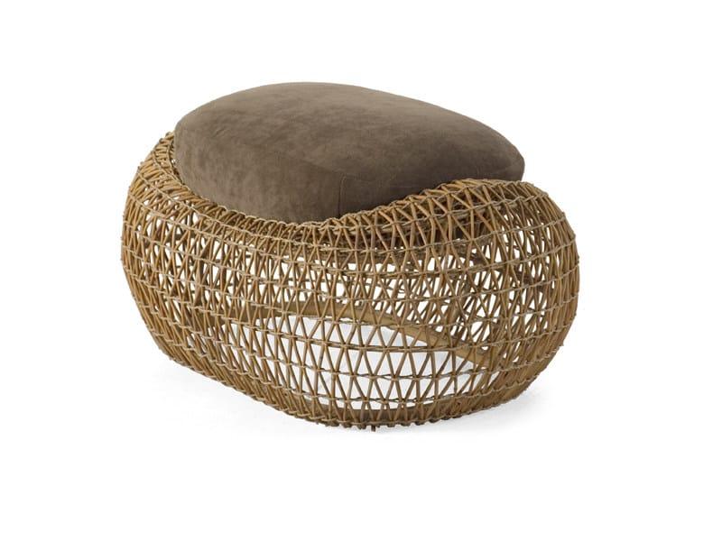Garden footstool BALOU | Garden pouf - KENNETH COBONPUE
