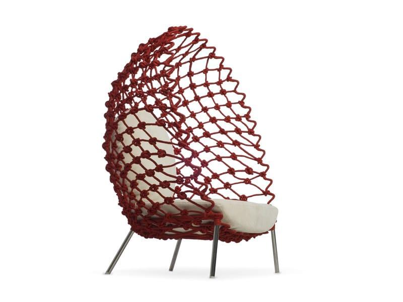 Garden armchair DRAGNET | Garden armchair - KENNETH COBONPUE