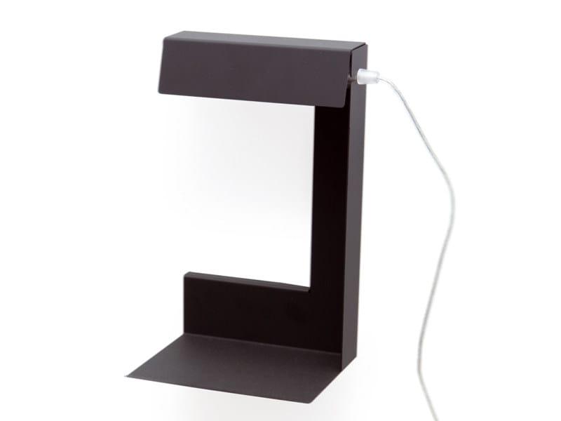 Powder coated steel wall lamp / table lamp LEFT OR RIGHT | Table lamp - KONSTANTIN SLAWINSKI