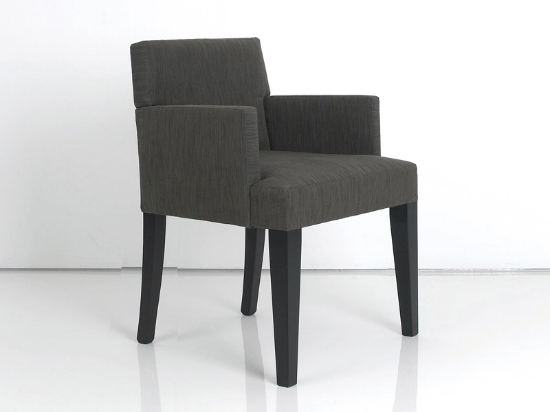 Upholstered fabric chair SEATON - INTERNI EDITION