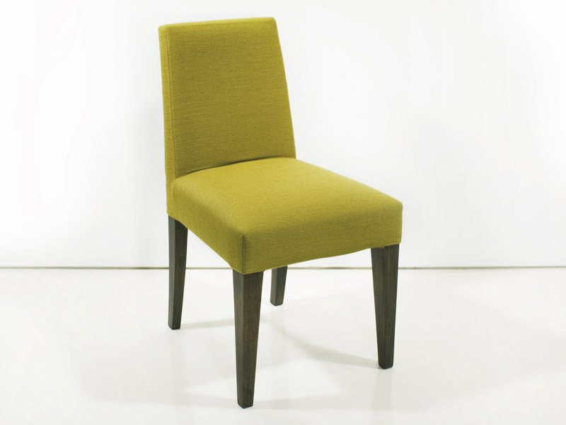 chaise rembourr e en tissu stockholm by interni edition design yves dever. Black Bedroom Furniture Sets. Home Design Ideas