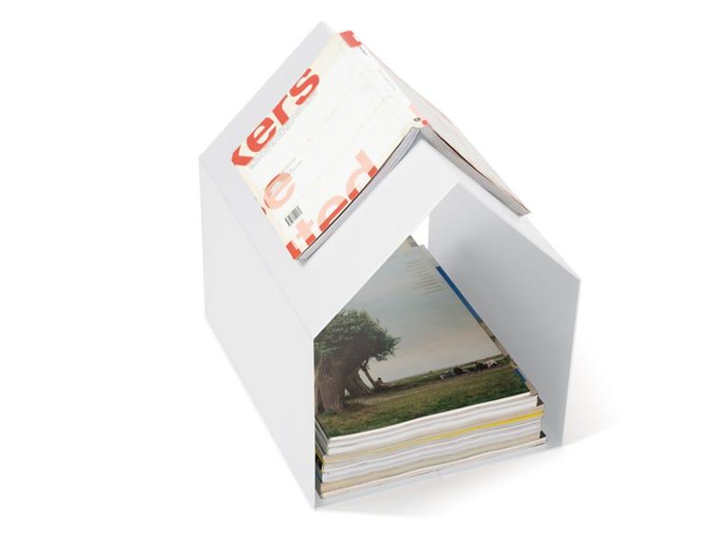 Powder coated steel magazine rack MAGAZIN - KONSTANTIN SLAWINSKI