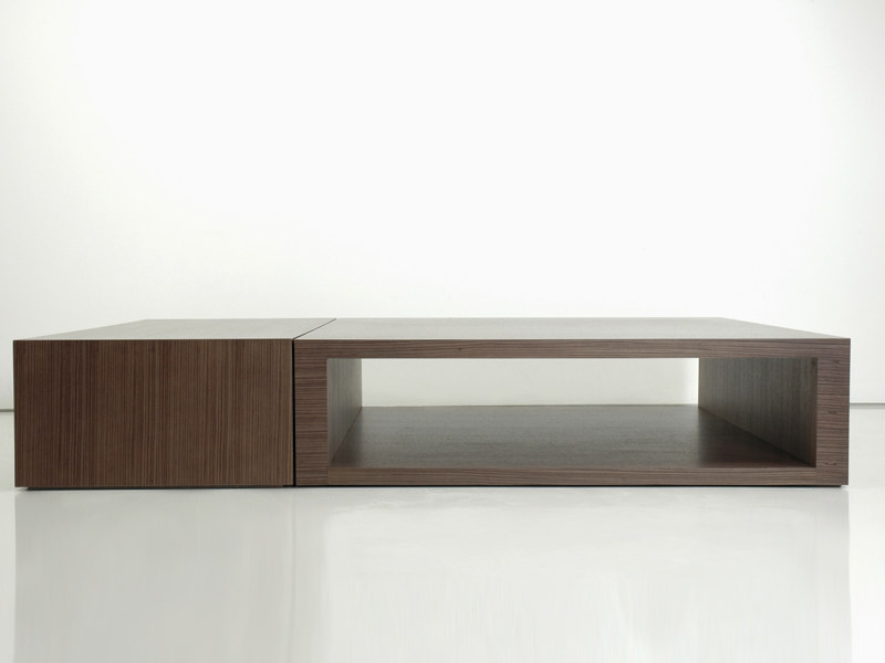 Wooden coffee table DOMINO by INTERNI EDITION