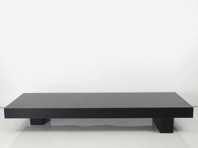 Low wooden coffee table LESSNESS | Coffee table - INTERNI EDITION
