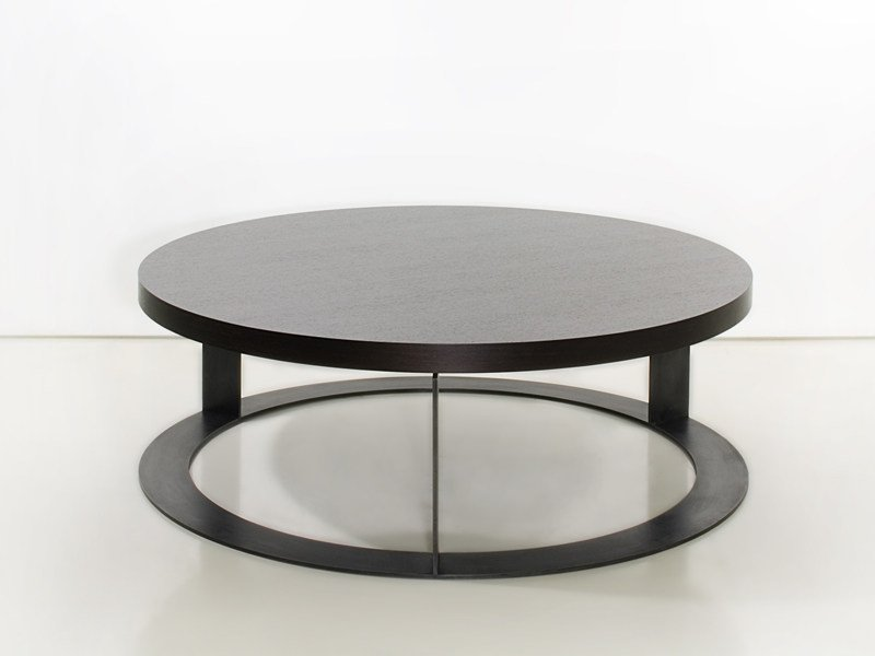Round wooden coffee table DELHI | Coffee table - INTERNI EDITION