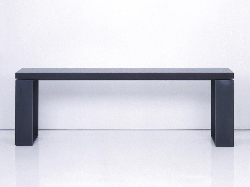 Rectangular wooden console table BOSTON - INTERNI EDITION