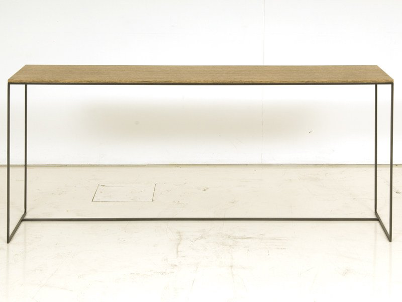 Rectangular wooden console table GIGOGNE - INTERNI EDITION