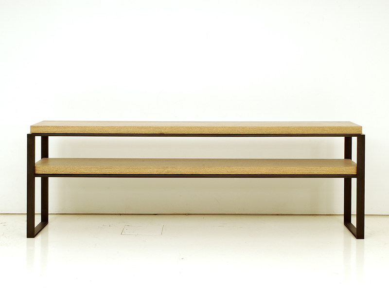 Rectangular wooden console table HOUSTON | Console table - INTERNI EDITION