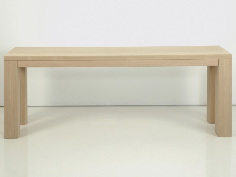 Rectangular wooden console table ZEN | Console table - INTERNI EDITION