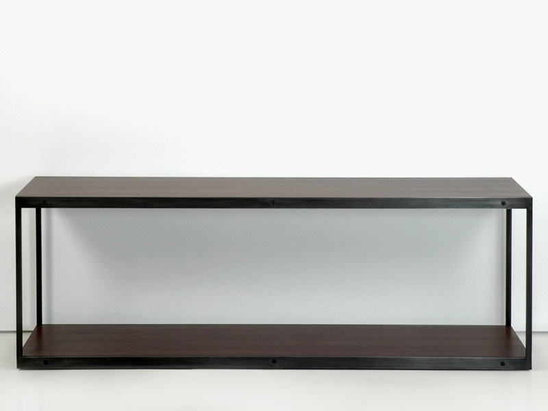 Rectangular wooden console table ENTRE-DEUX | Console table - INTERNI EDITION