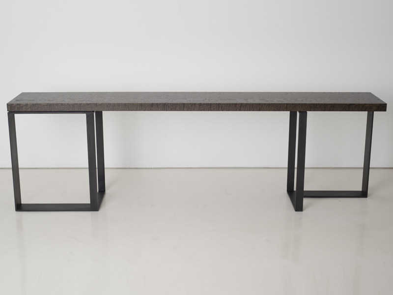 Rectangular steel console table ST MALO | Console table - INTERNI EDITION