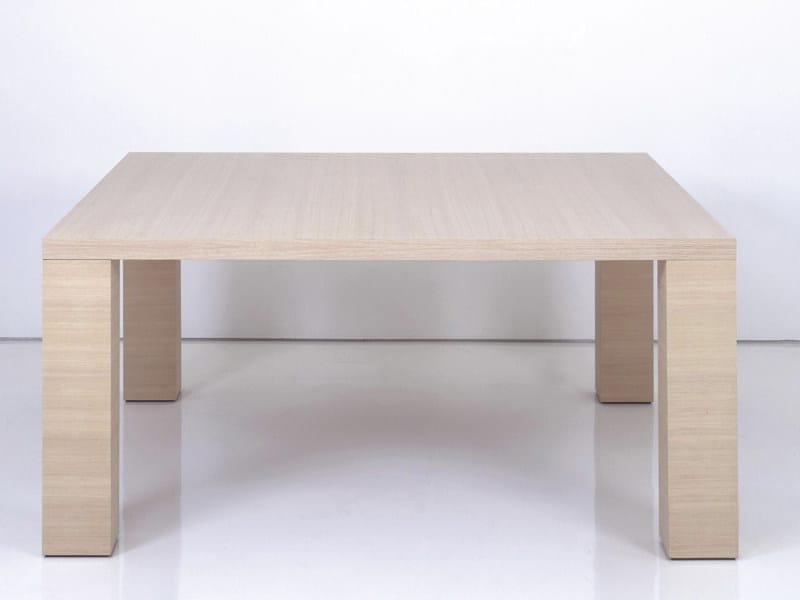 Tavolo da pranzo in legno bristol by interni edition - Tavolo da pranzo quadrato ...