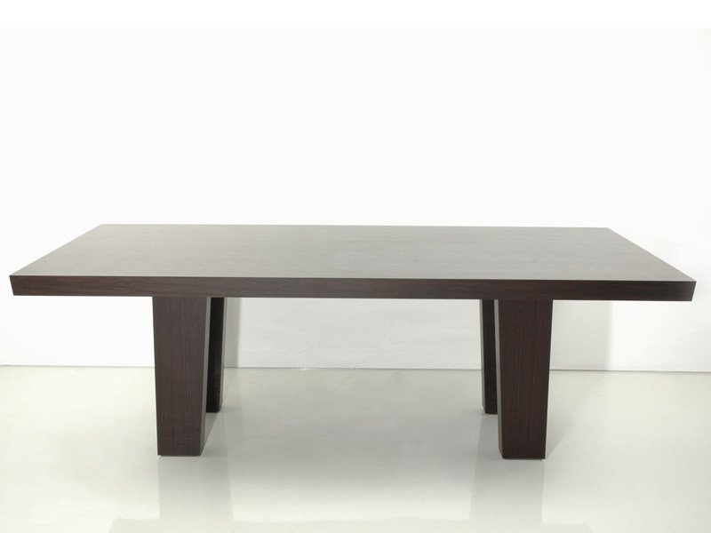 Wooden dining table EASTON by INTERNI EDITION