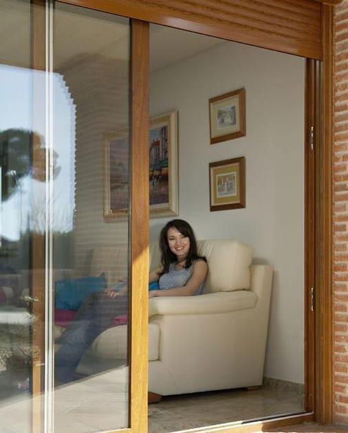PVC sliding window TECNOCOR >2 - DECEUNINCK ITALIA