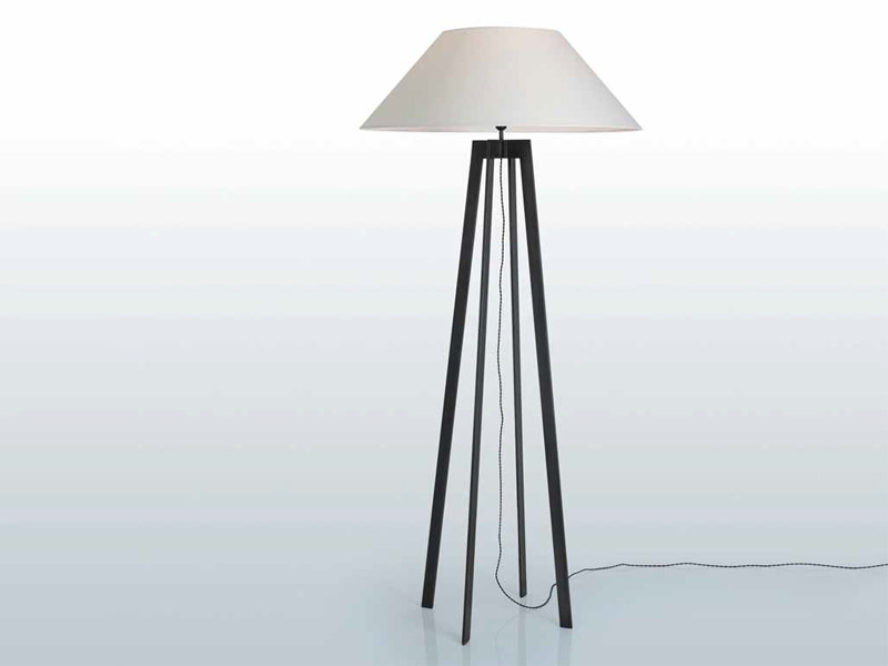 Steel floor lamp MEGA - INTERNI EDITION
