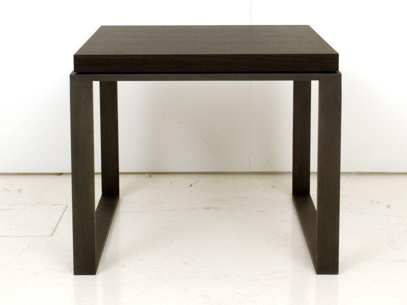 Square wooden coffee table HOUSTON P15/50 by INTERNI EDITION